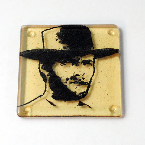Clint Eastwood Single Coaster