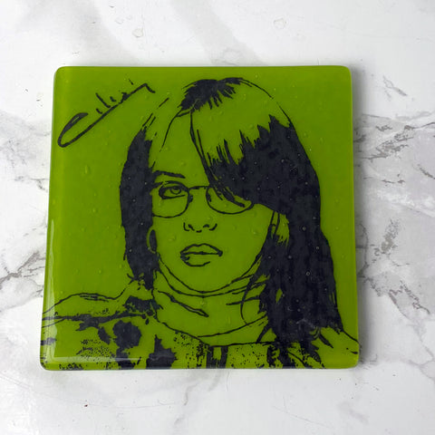 Billie Eilish Single Coaster