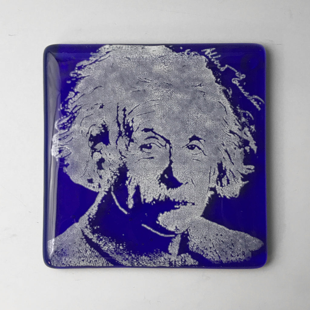 Albert Einstein Single Coaster