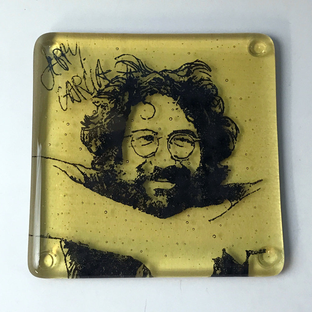 Jerry Garcia Single Coaster