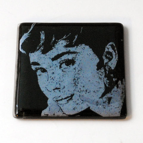 Audrey Hepburn Single Coaster