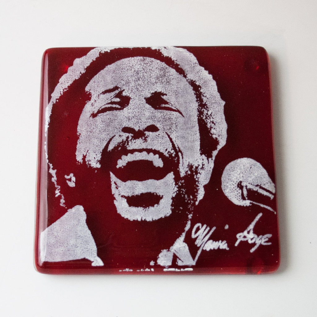 Marvin Gaye Single Coaster