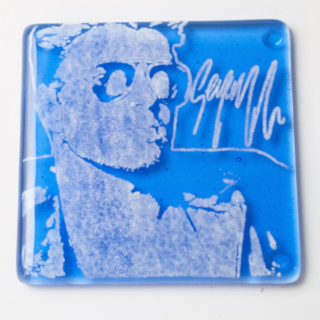 George Michael Single Coaster
