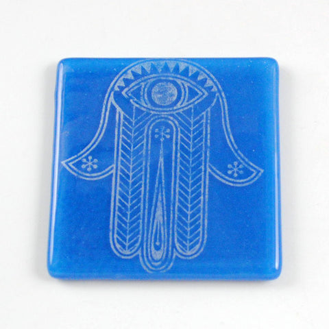 Hamsa Single Coaster