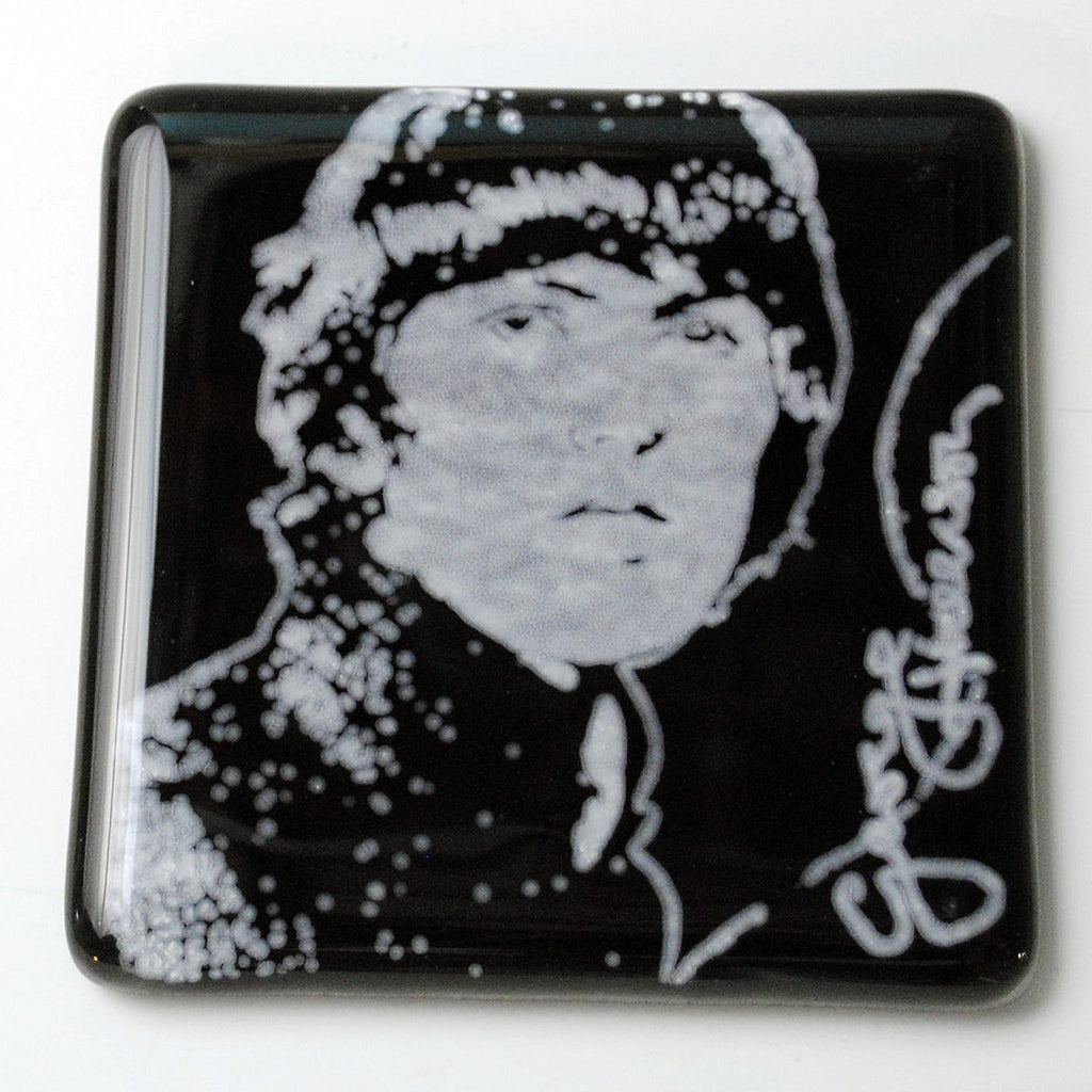 George Harrison Single Coaster