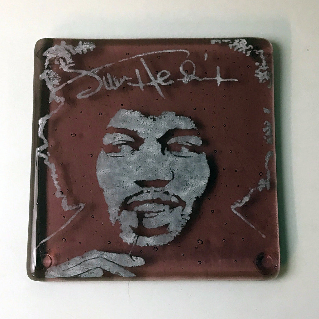 Jimi Hendrix Single Coaster