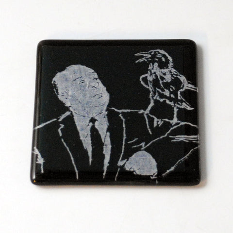 Alfred Hitchcock Single Coaster