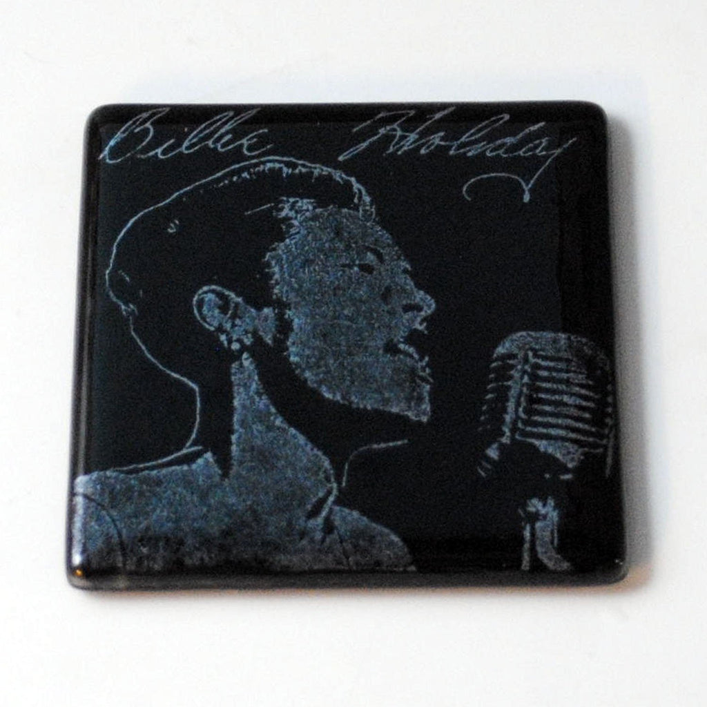 Billie Holiday Single Coaster