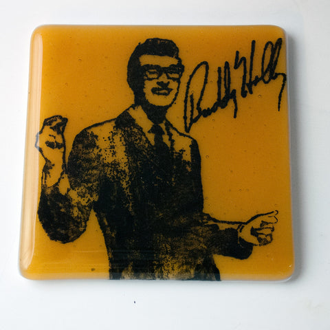 Buddy Holly Single Coaster