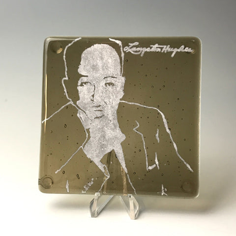 Langston Hughes Single Coaster
