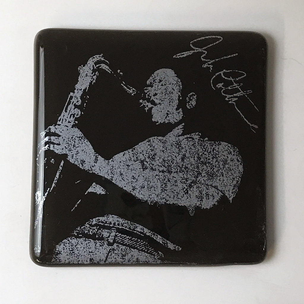 John Coltrane Single Coaster