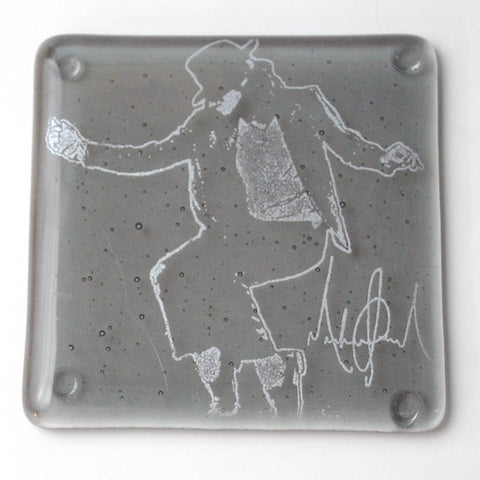 Michael Jackson Single Coaster
