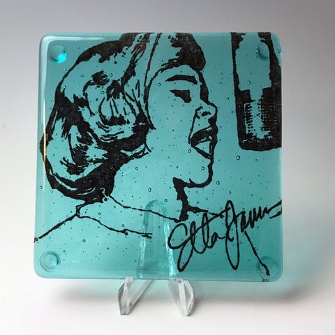 Etta James Single Coaster