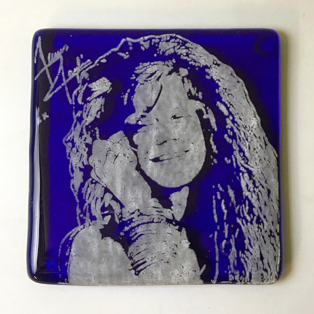 Janis Joplin Single Coaster