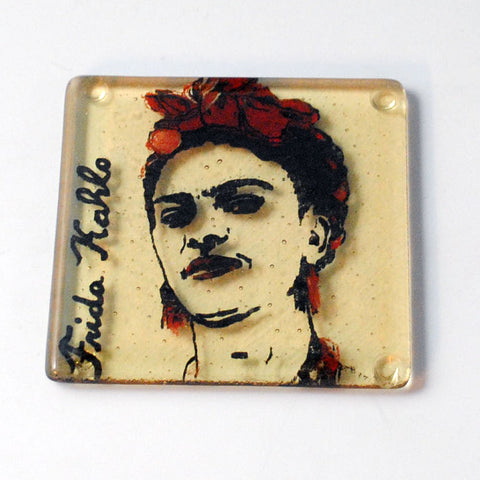 Frida Kahlo Single Coaster