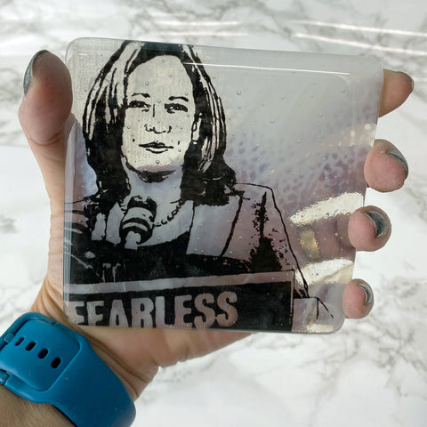 Kamala Harris Single Coaster