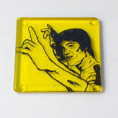 Bruce Lee Single Coaster
