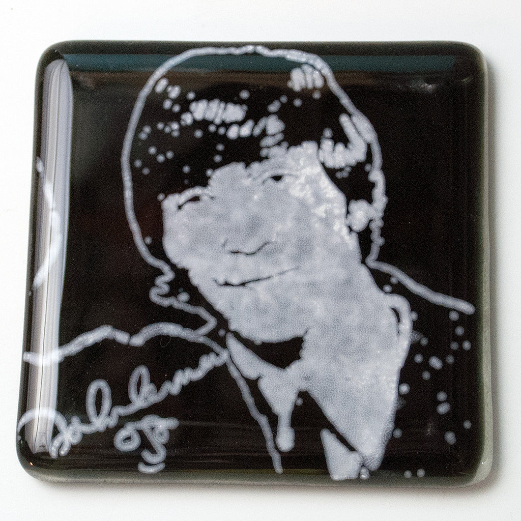 John Lennon Single Coaster