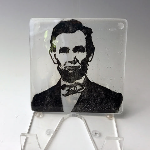 Abraham Lincoln Single Coaster