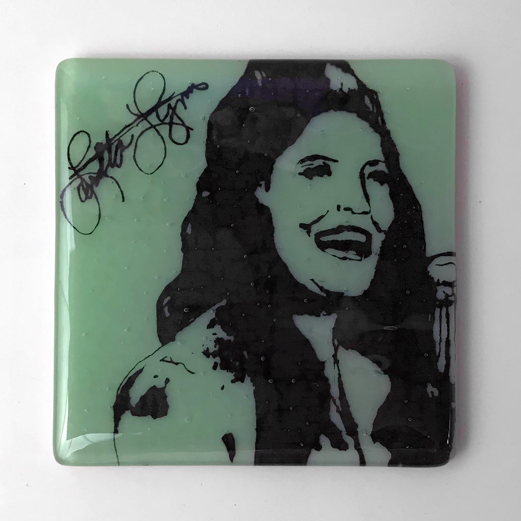 Loretta Lynn Single Coaster