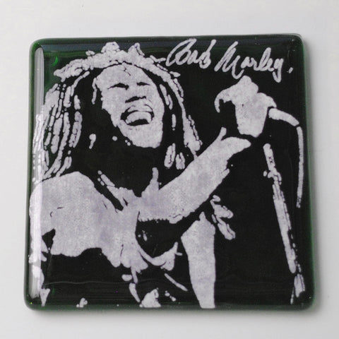Bob Marley Single Coaster