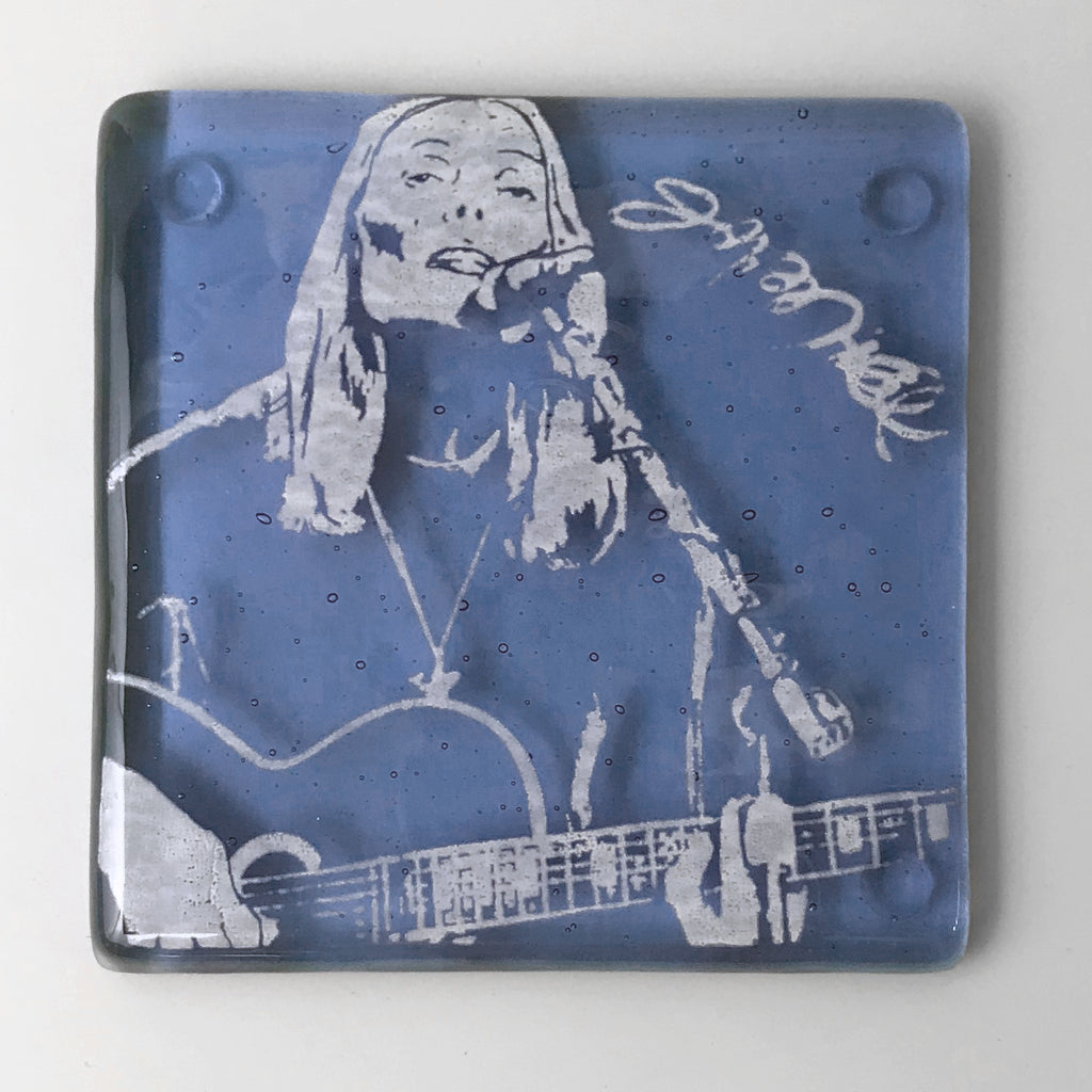 Joni Mitchell Single Coaster