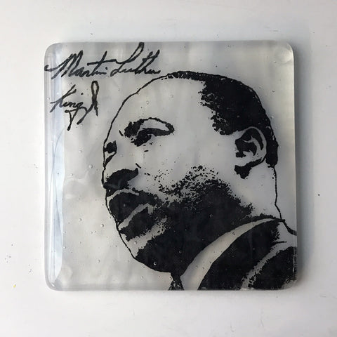 Martin Luther King Jr. Single Coaster