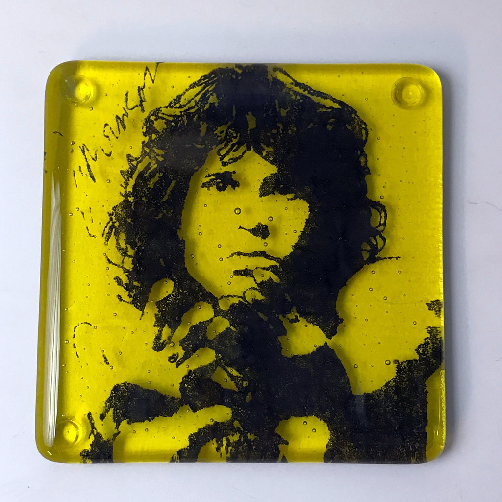Jim Morrison Single Coaster