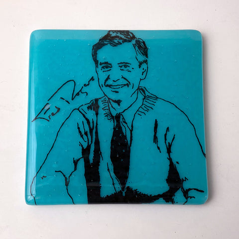 Mr. Rogers Single Coaster
