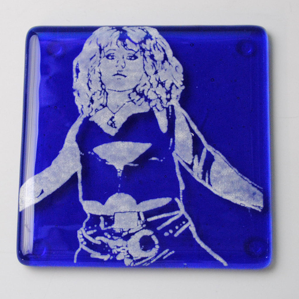 Nancy Spungen Single Coaster