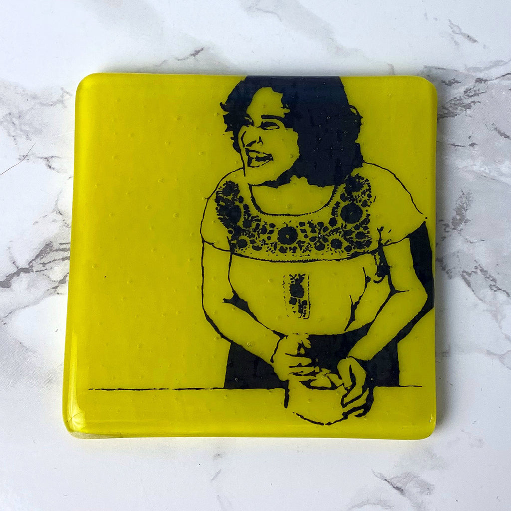 Samin Nosrat Single Coaster