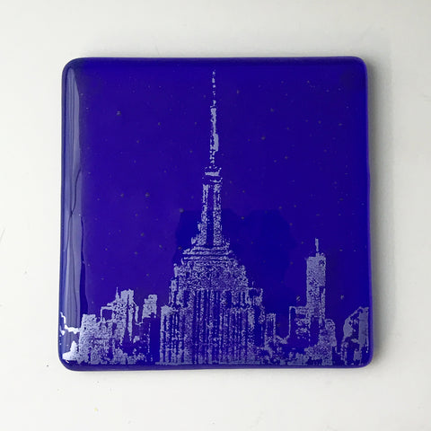 New York City Empire State Building Single Coaster