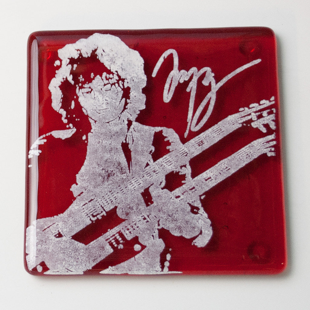 Jimmy Page Single Coaster