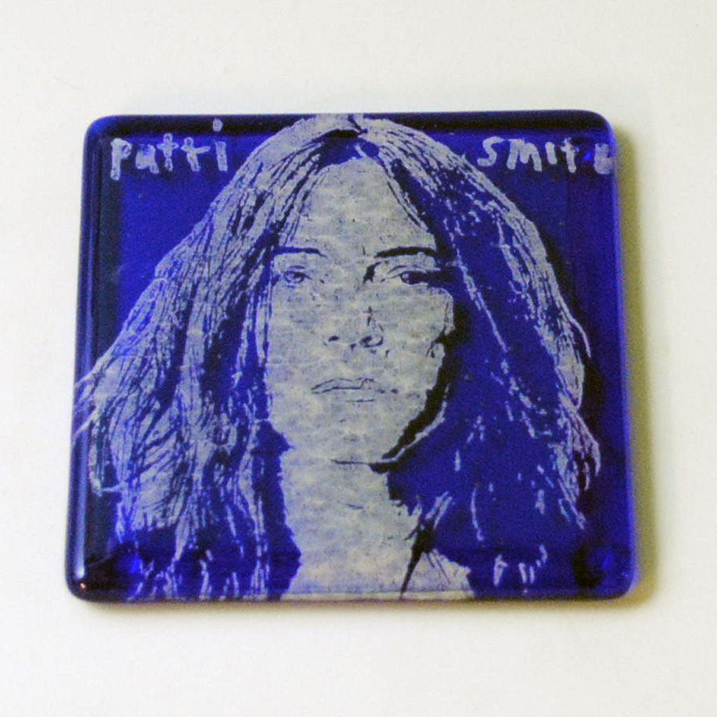 Patti Smith Single Coaster