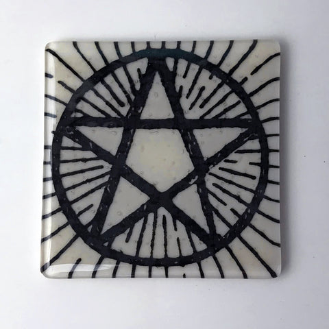 Pentagram Single Coaster