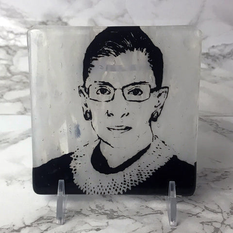 Ruth Bader Ginsberg Single Coaster