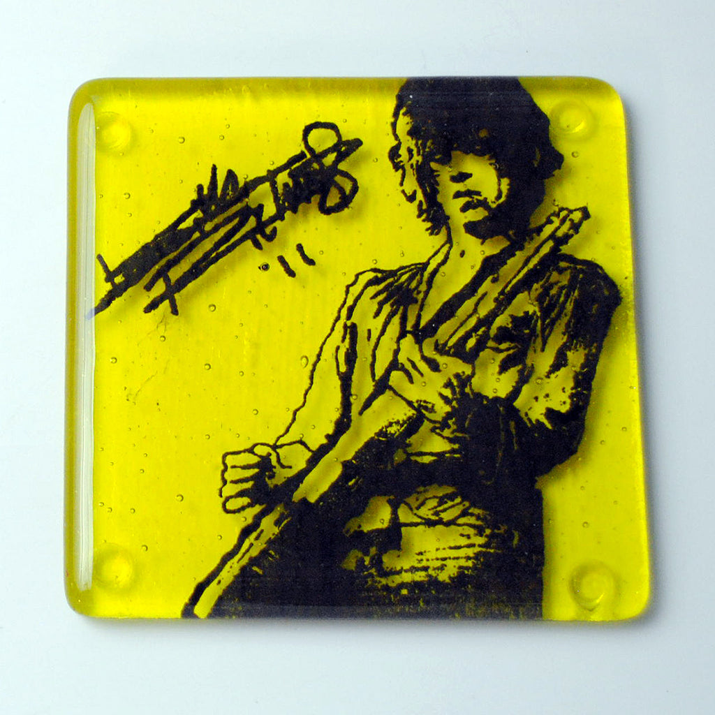 Keith Richards Single Coaster