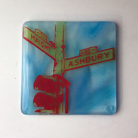 San Francisco Haight Ashbury Single Coaster