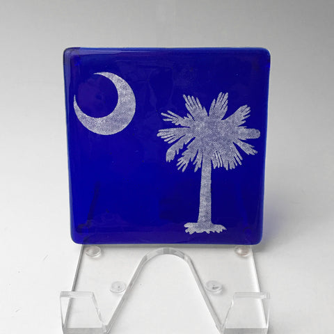 South Carolina Palmetto Single Coaster
