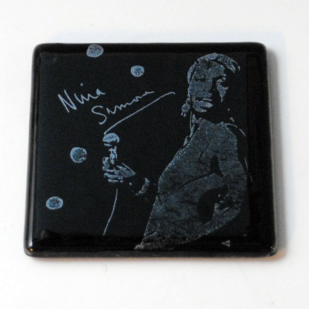 Nina Simone Single Coaster