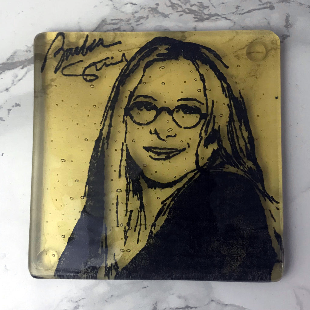 Barbra Streisand Single Coaster