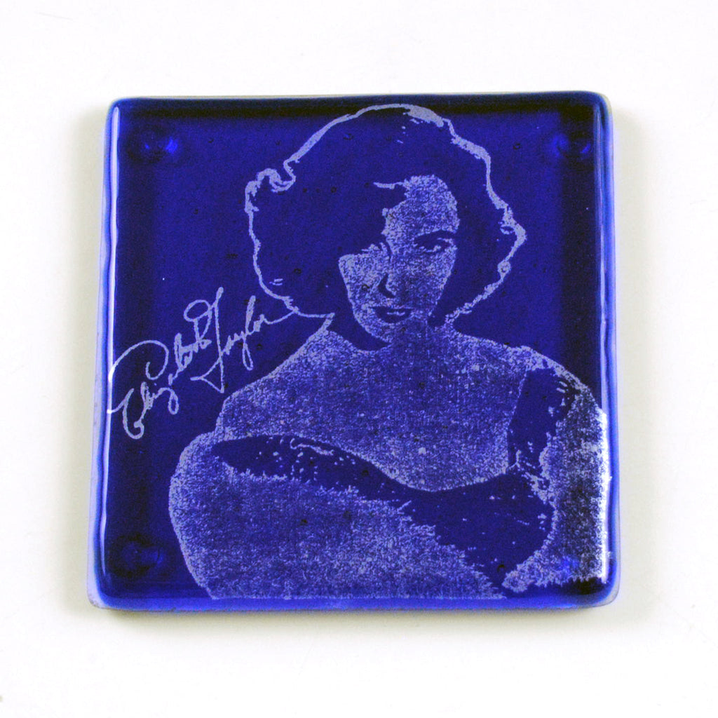 Elizabeth Taylor Single Coaster