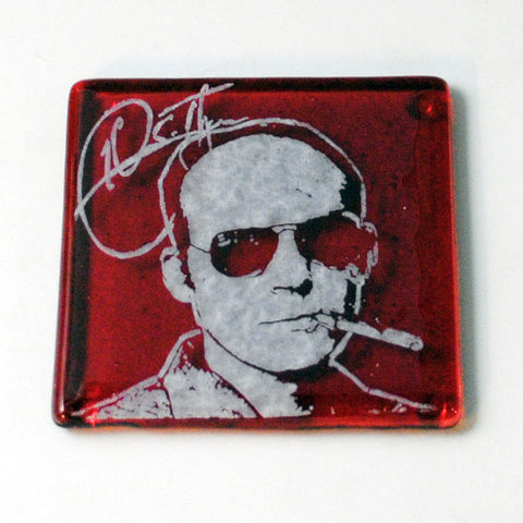 Hunter S. Thompson Single Coaster
