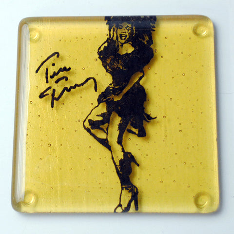 Tina Turner Single Coaster
