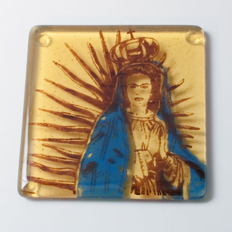 Virgen Frida Single Coaster