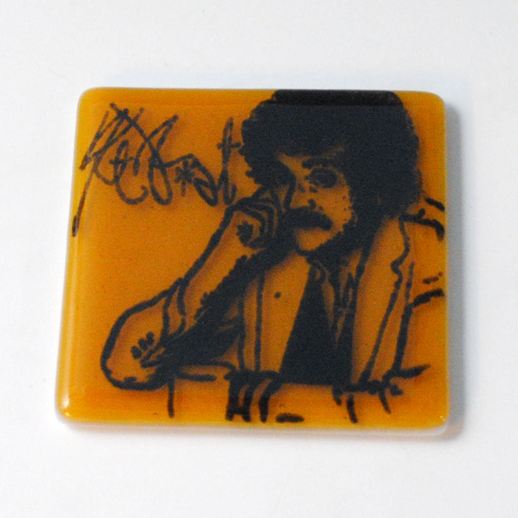 Kurt Vonnegut Single Coaster
