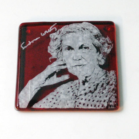 Eudora Welty Single Coaster