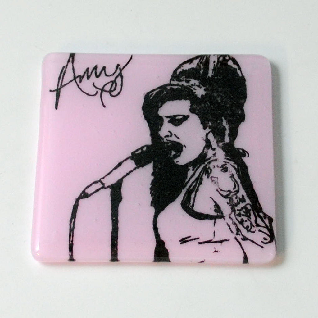 Amy Winehouse Single Coaster