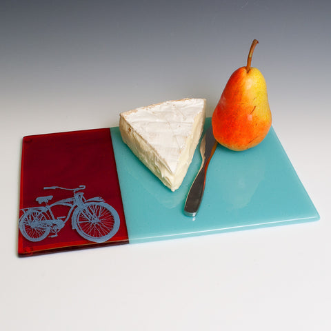 Bike Cheese Plate