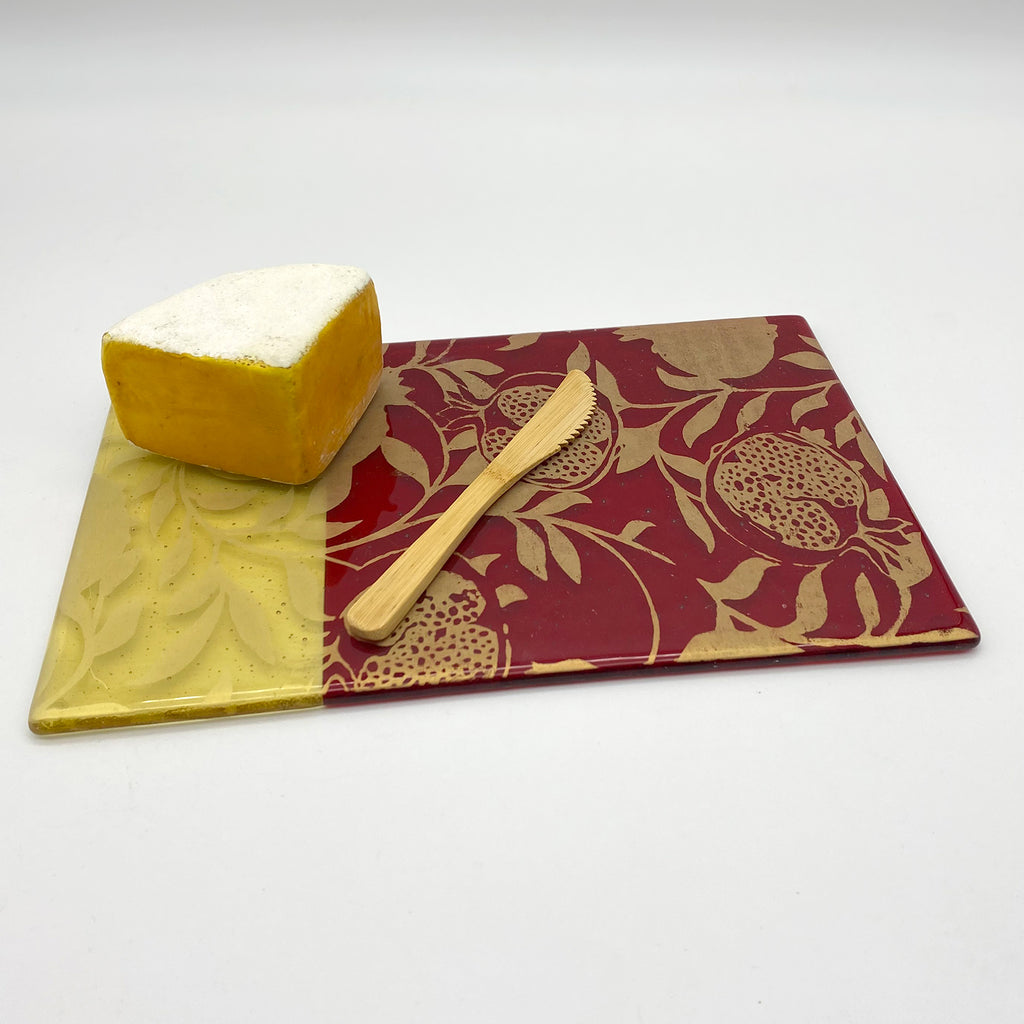 Pomegranate Cheese Plate